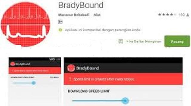 Cara Membatasi Kecepatan Internet Android Tanpa Root