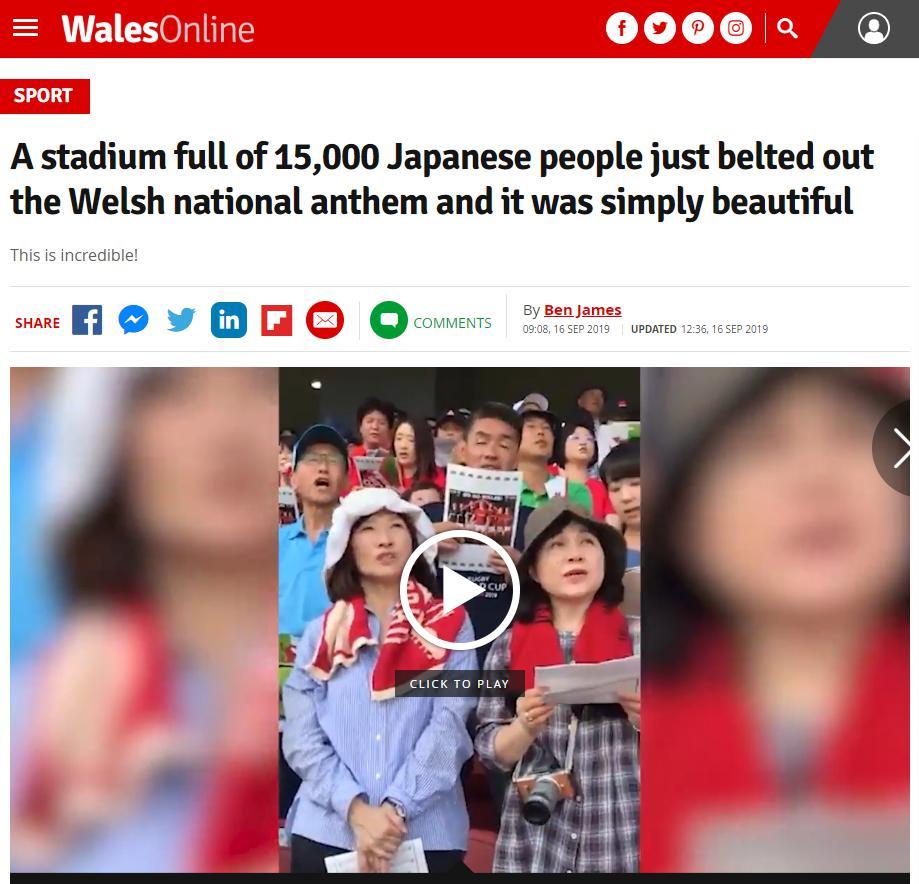の 感動 反応 海外 日本