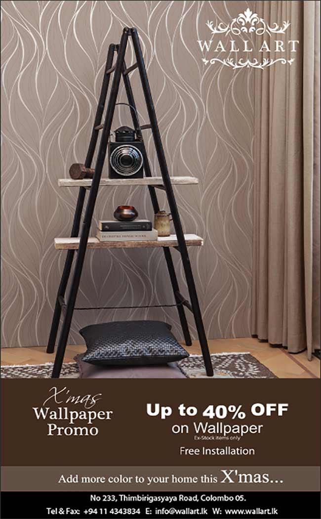 WallArt - X'Mas Wallpaper Promo - Up to 40% off.
