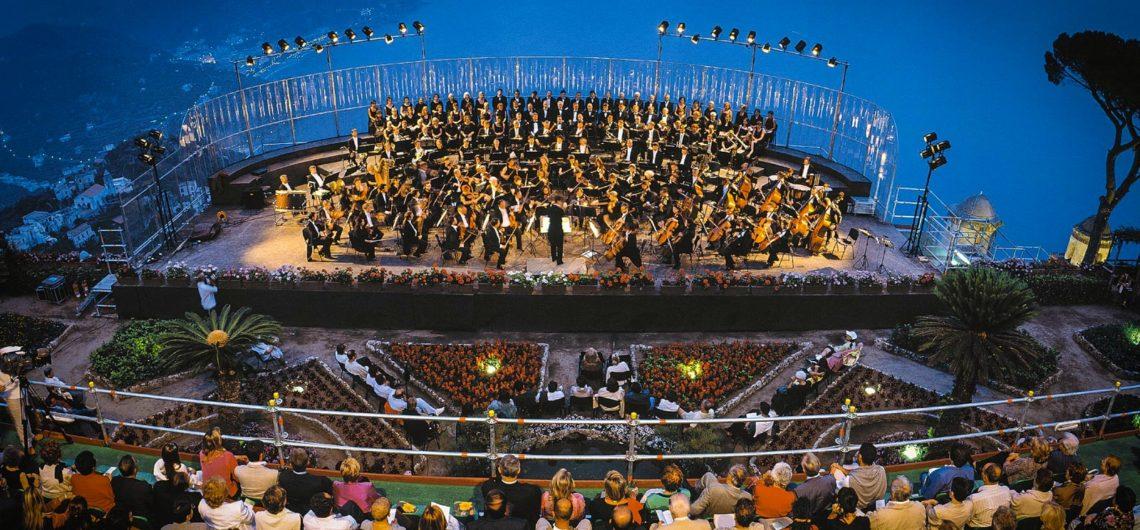 Музыкальный фестиваль в Равелло, Италия