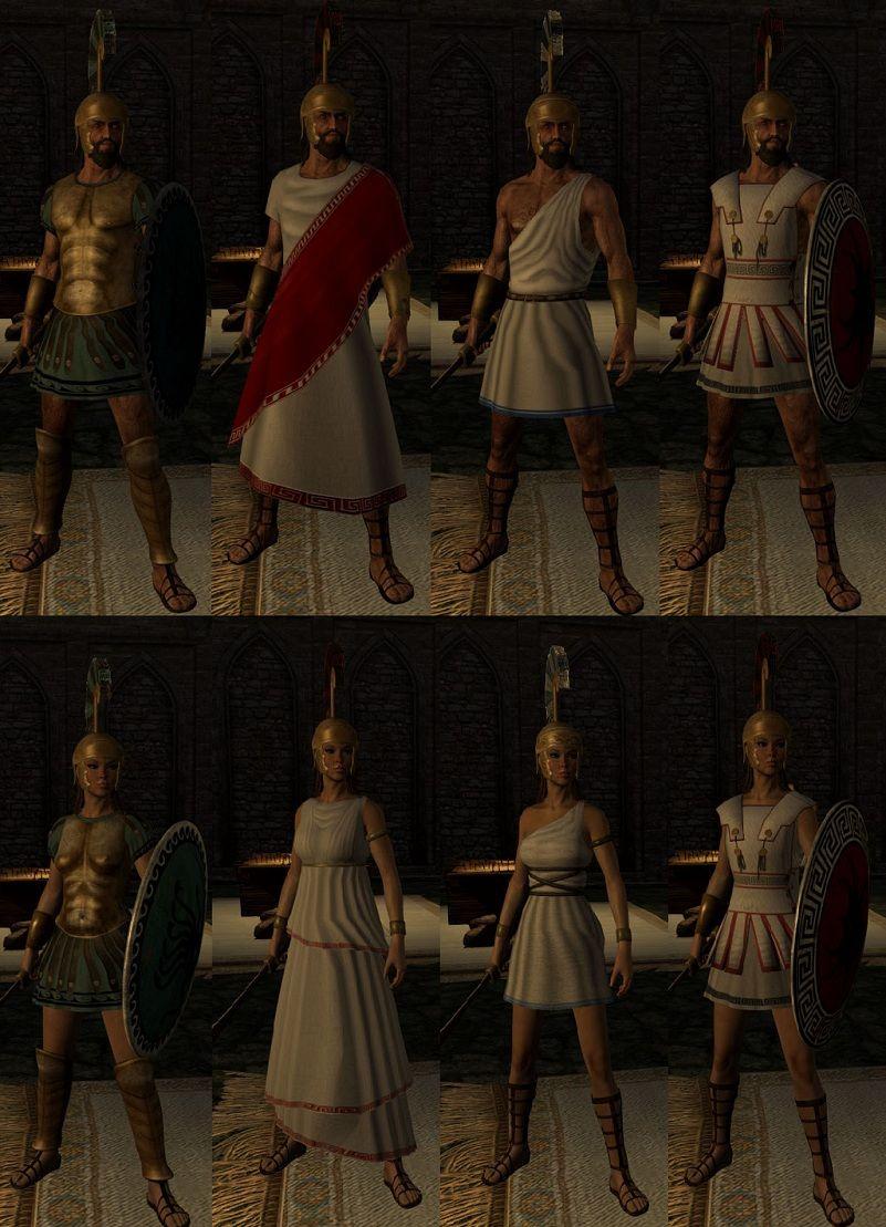 Greek Armor Revamped [ADEC/CBBE/UNP] ~ Skyrim Database