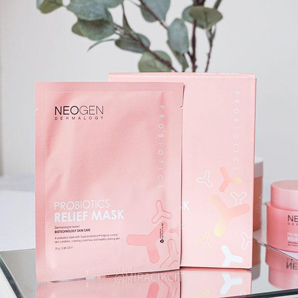 Neogen Dermalogy Probiotics Relief Mask Review