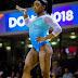 Correndo riscos, Simone Biles consegue o tetra mundial
