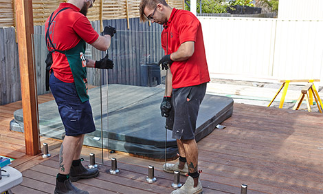 The installation of the glass pool fencing regulations