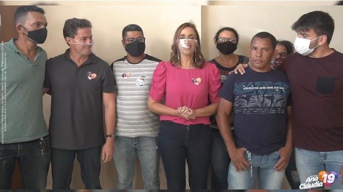 Seis candidatos a vereador do Pros trocam Bruno por Ana Cláudia