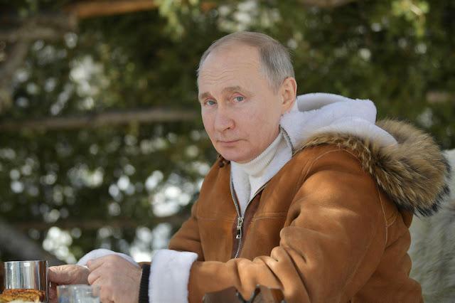 Russia President Vladimir Putin named Russia's sexiest man alive