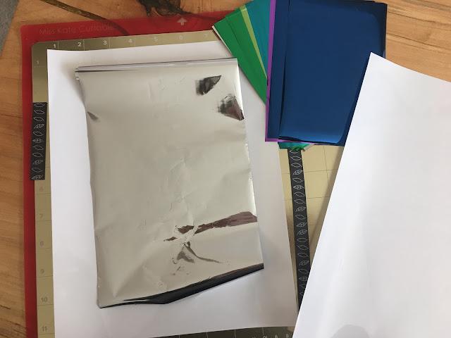 foil quil, foil quill silhouette, sticker paper, silhouette sticker paper, foil quill designs