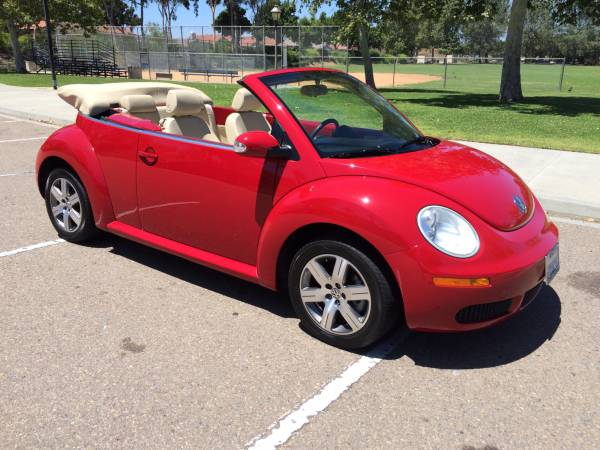 2006 VW New Beetle Convertible Low Miles
