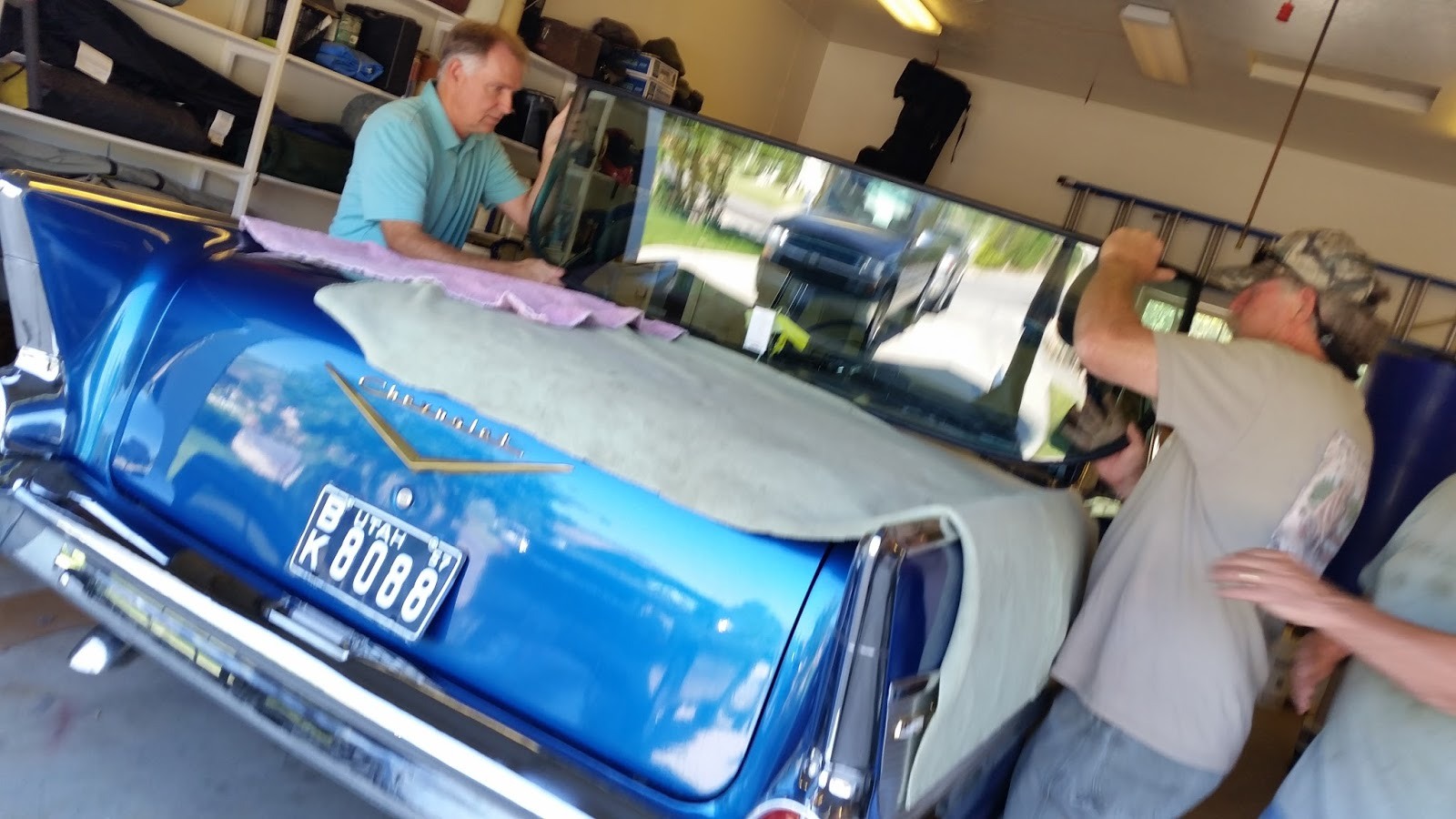 1957 Chevy Belair Restoration Side Window Seal I Was In Charge Of The Little Valley Days Car Show This Year And Decided Would Off 57 For First Time Even Though It Is Not Complete