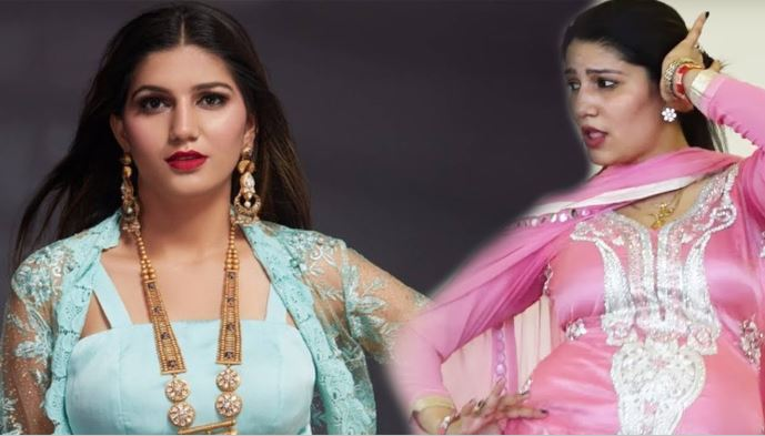 sapna chaudhary in suit