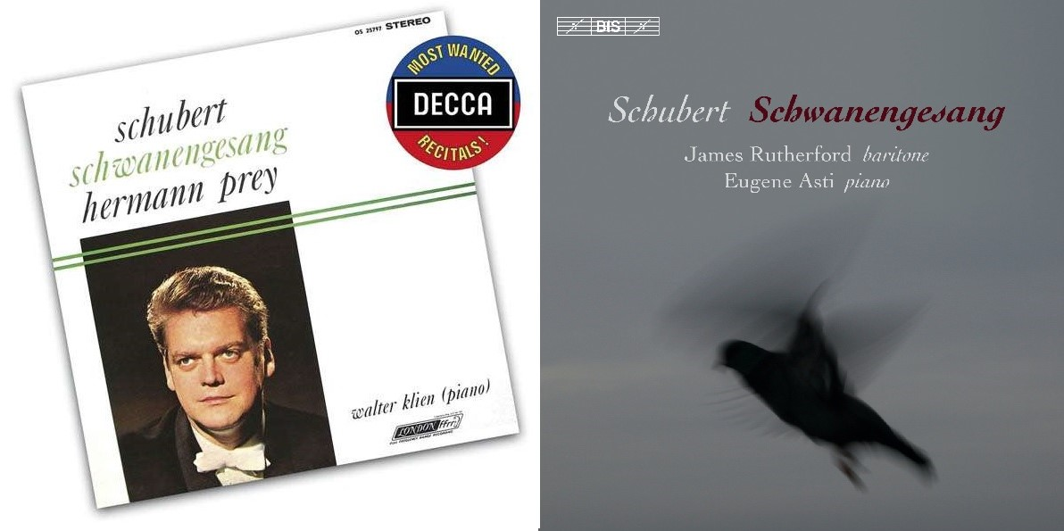 IN REVIEW: Franz Schubert - SCHWANENGESANG (DECCA 480 8171 and BIS Records BIS-2180)
