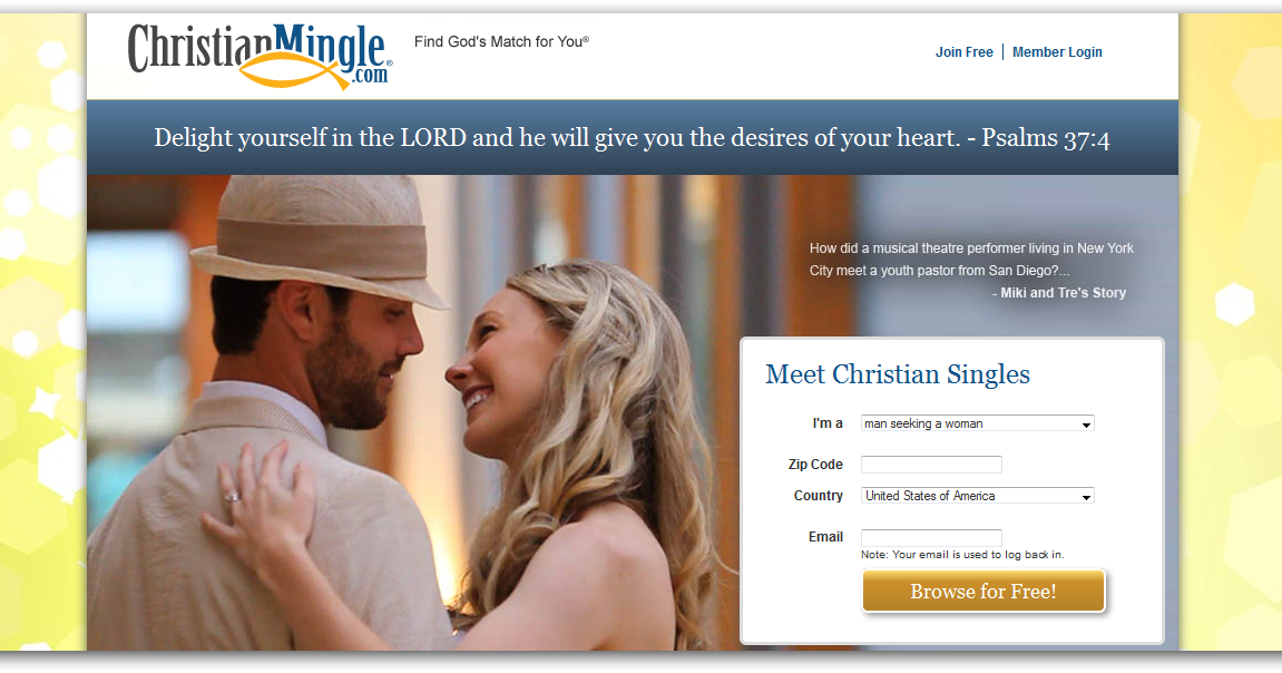 #1 free christian dating site
