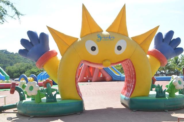 Samba Thrilla Aqua Park in Clark
