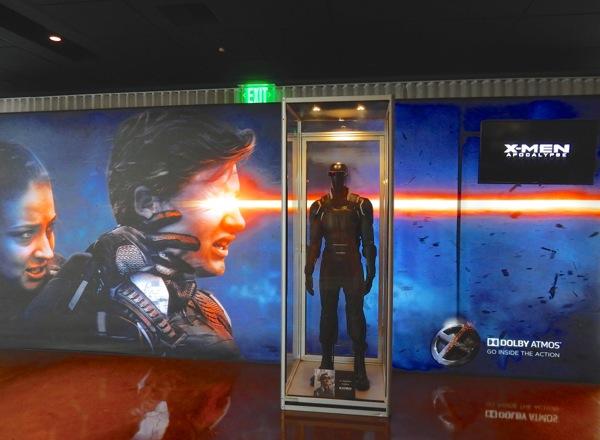 XMen Apocalypse Cyclops movie costume exhibit