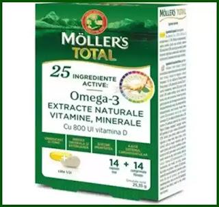 Mollers Total, 14 capsule + 14 comprimate, Mollers pareri forum imunitate