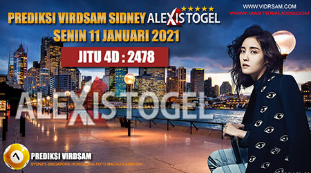 Prediksi Virdsam Sydney Senin 11 Januari 2021