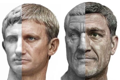Artificial intelligence brings Roman emperors back to life