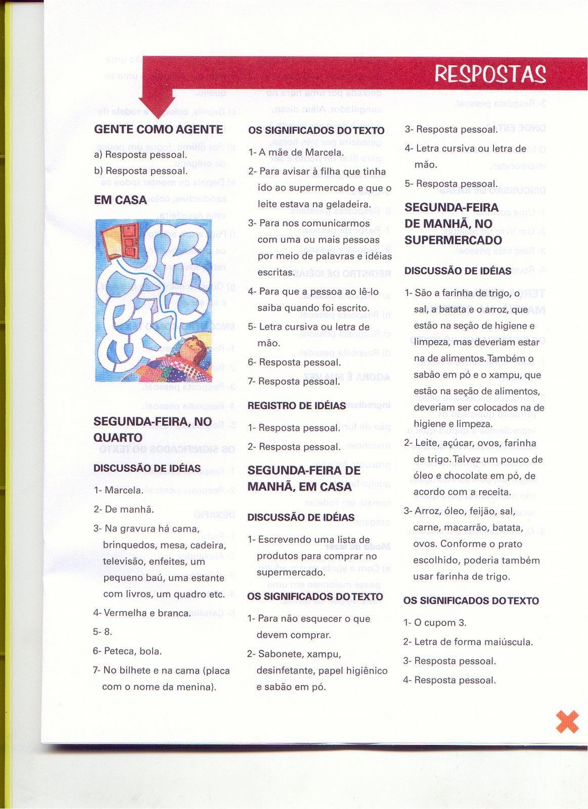 Respostas das atividades do livro redacao para criancas