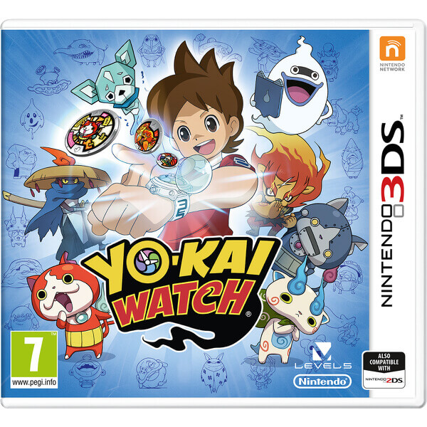 new Nintendo 3DS, Yo-Kai Watch, games for children 7 and above