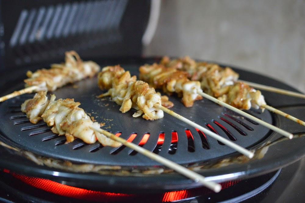 Diah Didi S Kitchen Sate Jamur Tiram Bumbu Kacang