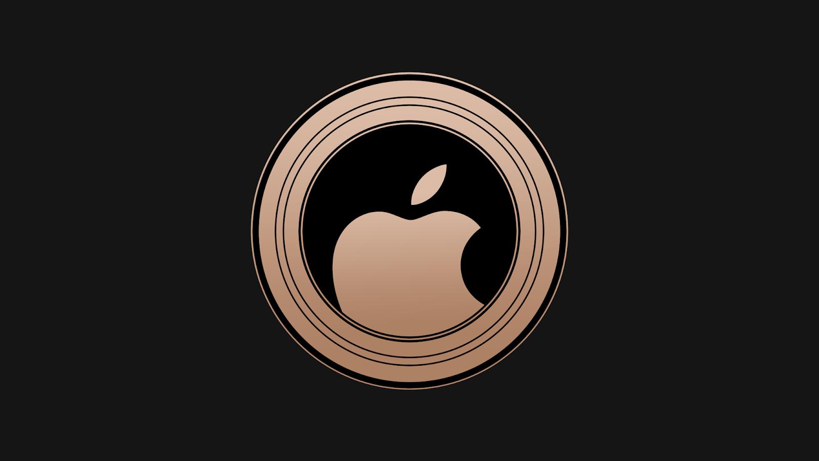 Apple logo, iPhone XS, 5K, Technology