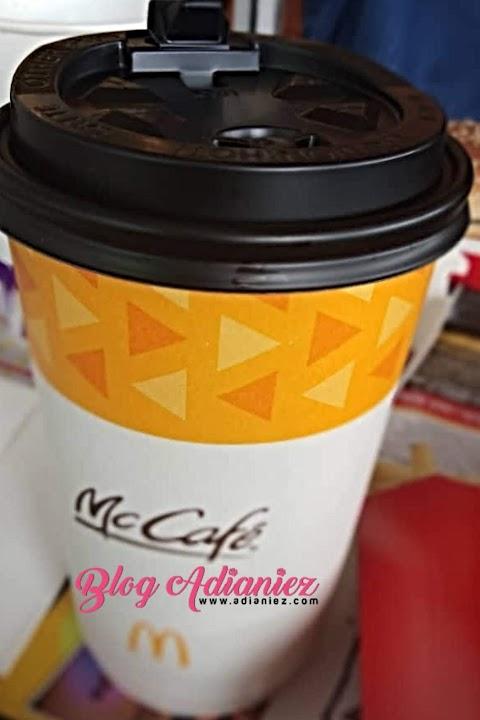 Sesekali layan McCafe Hazelnut Latte...