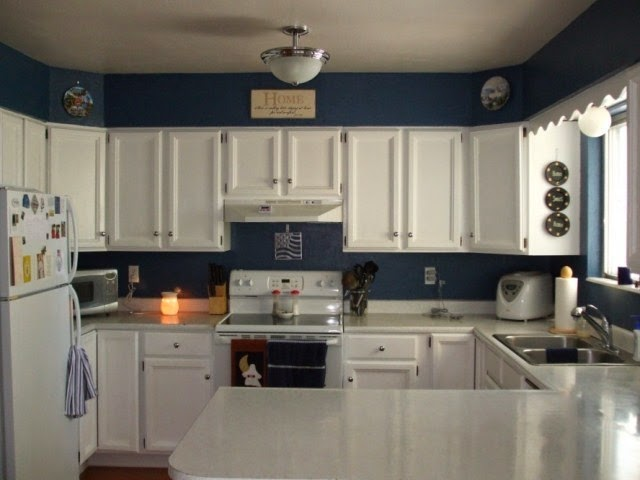 Interior paint colors ideas for homes for 1 2 wall kitchen ideas
