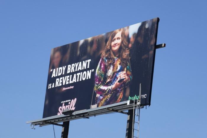 Aidy Bryant Shrill 2019 Emmy consideration billboard