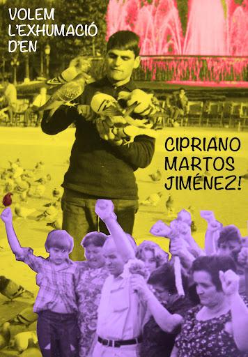 ADHESIONS MANIFEST EXHUMACIÓ CIPRIANO MARTOS