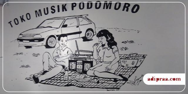 Toko Musik Podomoro | adipraa.com