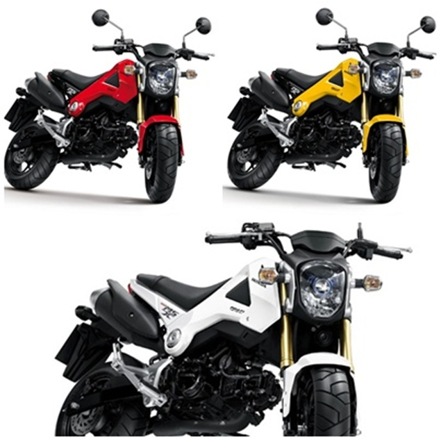 honda msx 125 mini moto vs kawasaki ksr den of automotive. Black Bedroom Furniture Sets. Home Design Ideas