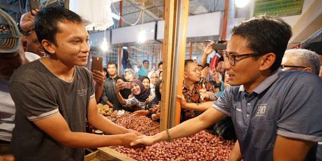 Sandiaga Uno Berjanji Untuk Semua Lini Usaha Akan Maju Di Daerah Sulawesi Barat Mungkin Hanya Janji Janji Saja Seperti Tong Kosong Nyaring Bunyi