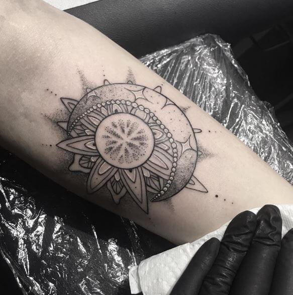 130 Lotus Mandala Tattoos Designs For Men 2019 With Meanings