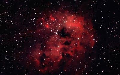 """IC 410, nebulosa """"Bassa de Capgrossos"""" a Auriga"""