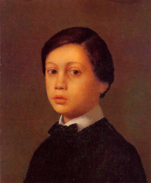 Эдгар Дега - Портрет младшего брата художника (ок.1855)