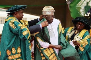 Photo: Bola Tinubu Bags Honorary Doctorate Degree at University of Abuja
