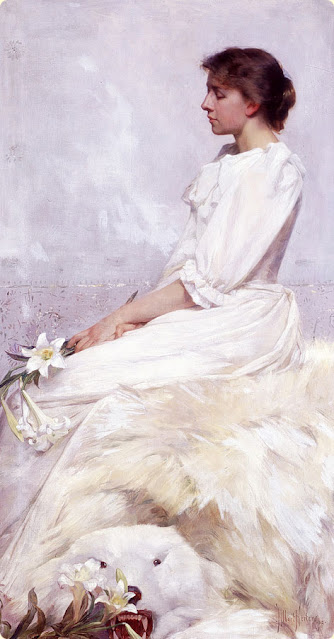 1892. Albert Herter - Bessie