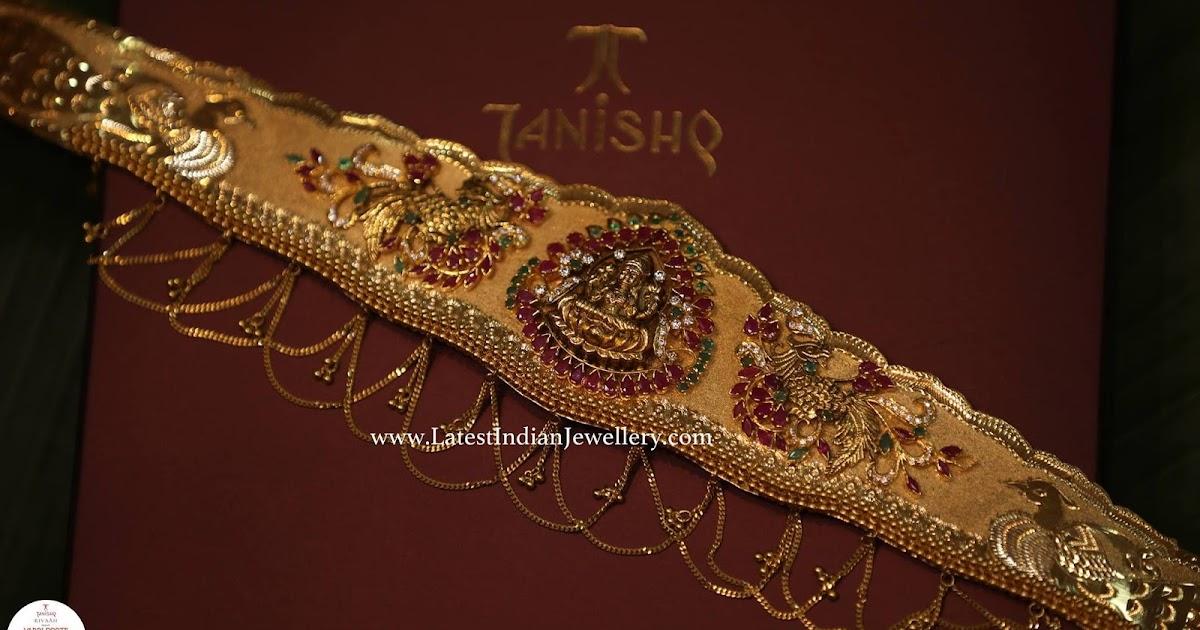 simple vaddanam from tanishq