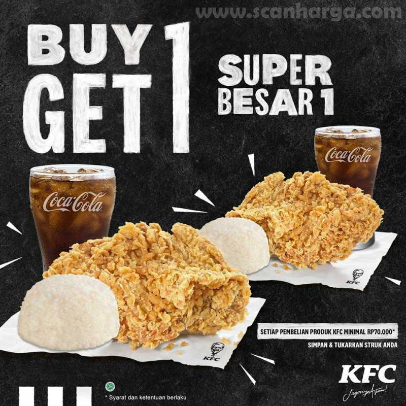 kfc buy 1 get 1 free