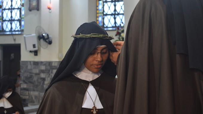 Em Campina Grande, Irmã Maria Agnes professa os votos perpétuos na Ordem de Santa Clara