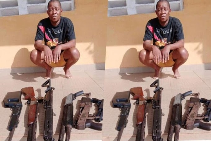 Police arrest Nollywood producer, Omoruyi With Guns Hired For Production