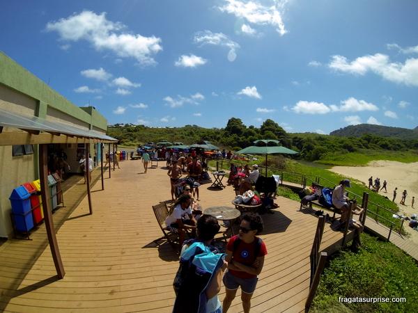 Centro de visitantes da Baía Sueste - Fernando de Noronha