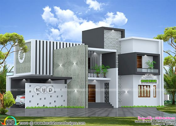 Royal contemporary house architecture