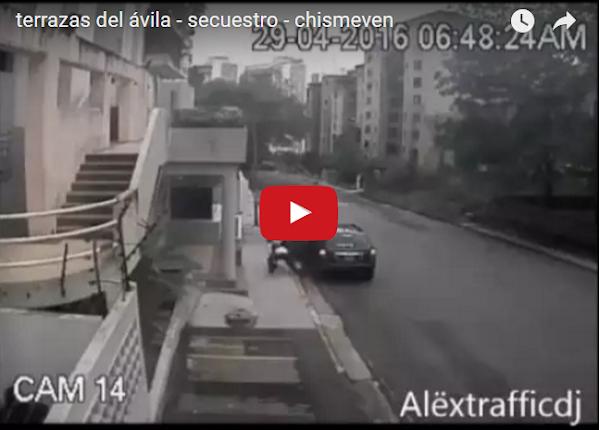 Un secuestro policial en Terrazas del Ávila