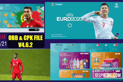 PATCH PES 2020 MOBILE EURO 2020 BY IDSPHONE V4.6.2