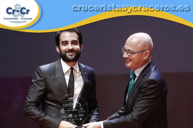 ► MSC Cruceros, elegida compañía de cruceros popular en los Premios Excellence