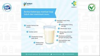 Manfaat Susu Pilihan Lebih Sehat atau Healthier Choice