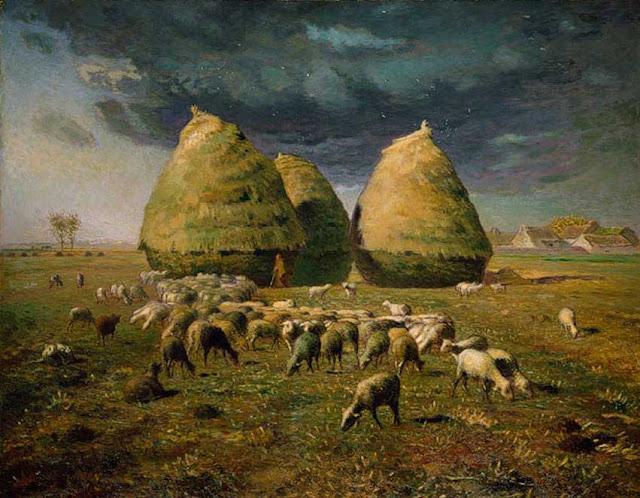 Жан Франсуа Милле - Осенние стога. 1873