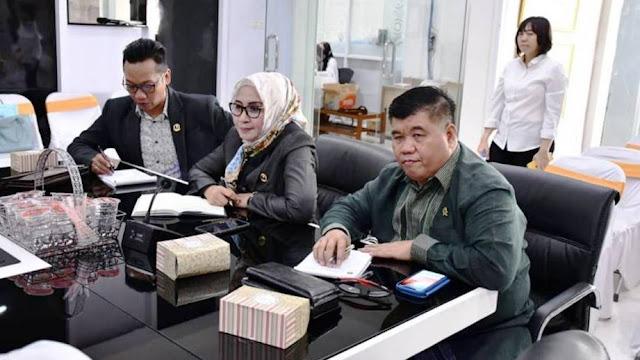 Komisi III DPRD Jabar Dan P3D Bandung Barat Bahas Denda Pajak Kendaraan Bermotor