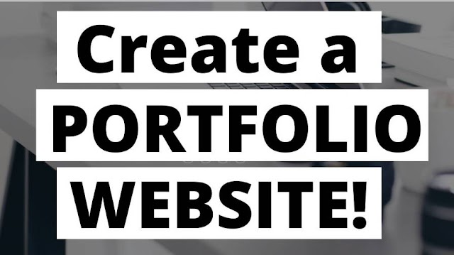 How Create a Portfolio Website without CODING!